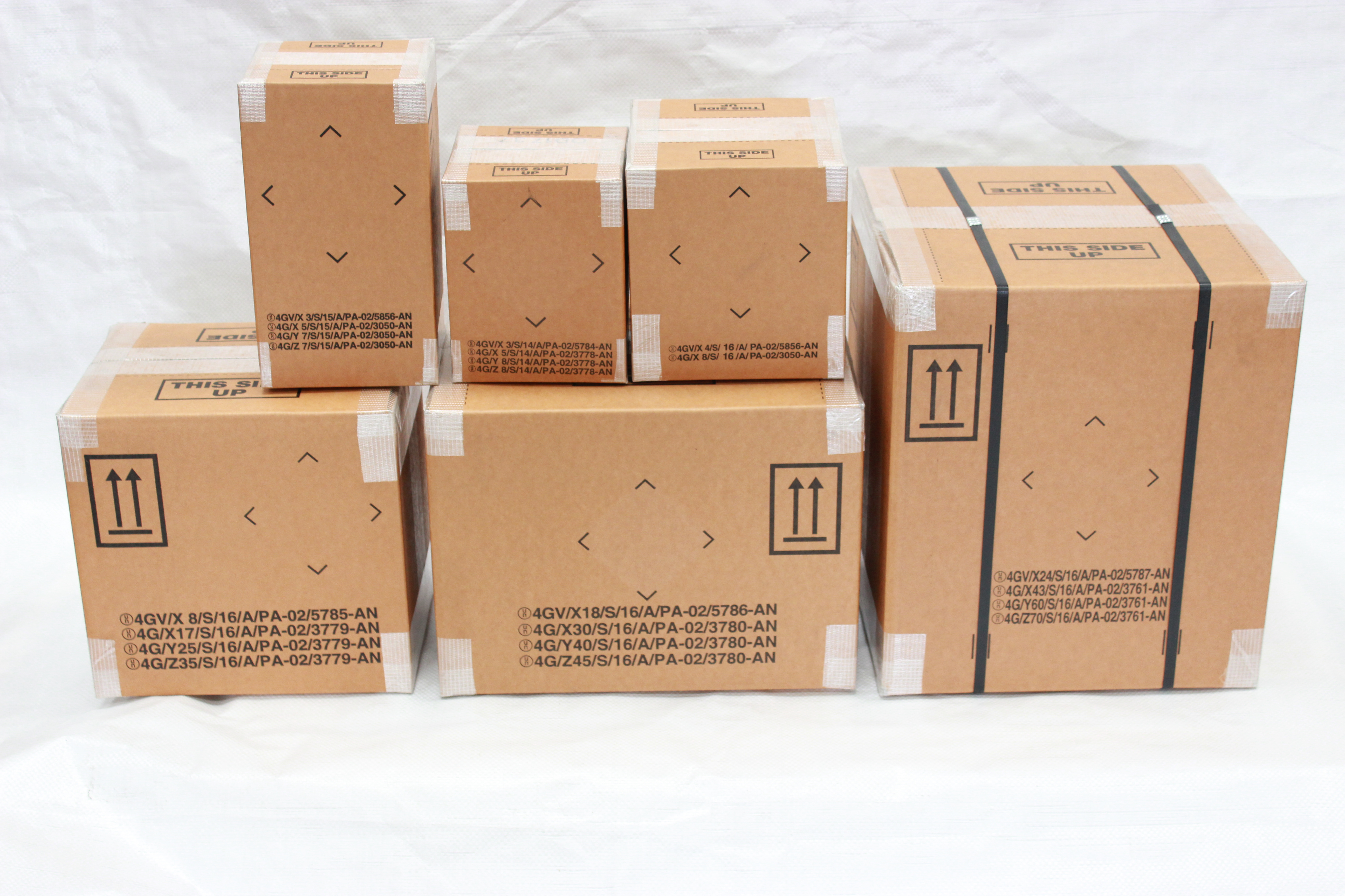 UN 4G & 4GV Fibreboard Boxes and Dangerous Goods Packaging